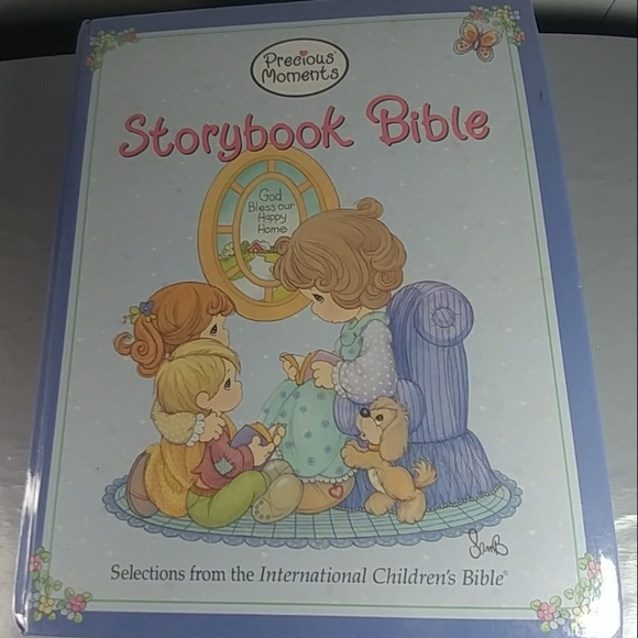 Children's Bible. Precious moments storybook bible